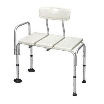 Revolution Mobility Padded Transfer Bench in White (REMBA-220)