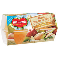 Del Monte® Diced Apples & Pears in Extra Light Syrup with Caramel Flavor