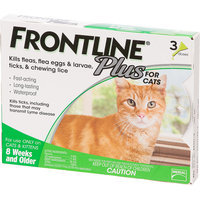 FRONTLINE Plus For Cats and Kittens - 6 Doses