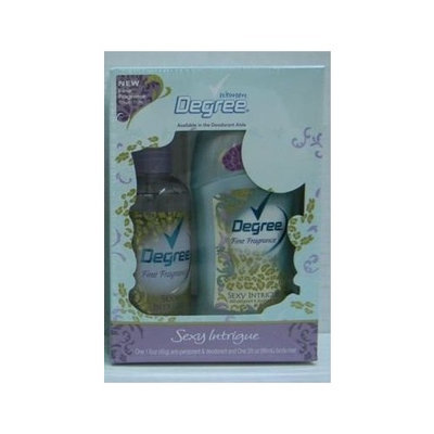Degree Women Sexy Intrigue Set Includes 1.6 Anti-perspirant Deodorant & 3 Oz Body Mist