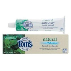 Toothpaste Anti-Cavity Fluoride Spearmint 6 fl oz from Tom's of Maine