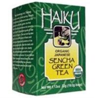 Haiku Organic Japanese Teas Sencha Green - 16 Tea Bags