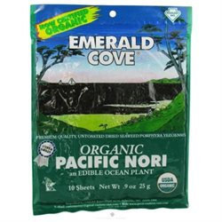 Emerald Cove Organic Nori Sheets - 0.9 oz