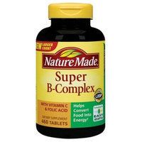 Nature Made Super B Complex Tablets , New Larger Count , 460 Count