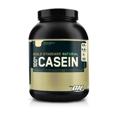 Optimum Nutrition Gold Standard Natural 100% Casein, French Vanilla 4lb Protein