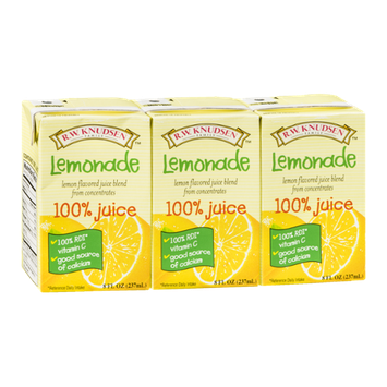 R.W. Knudsen 100% Juice Lemonade - 3 CT