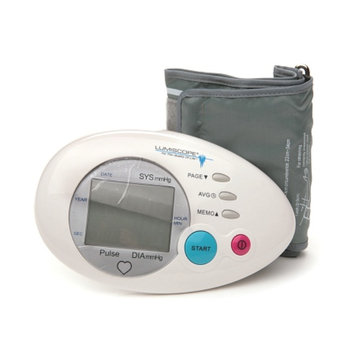 Lumiscope Deluxe Auto Inflate Blood Pressure Monitor with 2 Cuffs