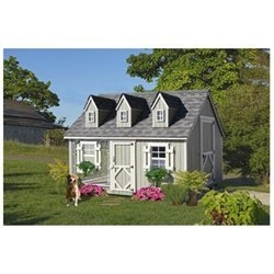 Little Cottage Co. Little Cottage 8x10 CCK-WDIY 8x10 Cape Cod Kennel Panelized Kit