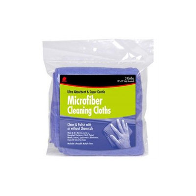 Buffalo Industries 64000 3 Count Microfiber Cleaning Cloths