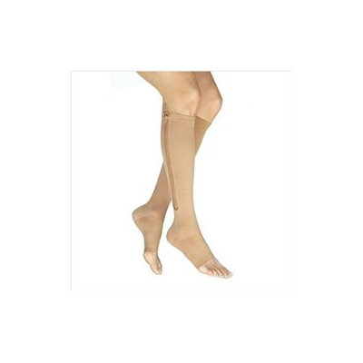 Jobst 114472 Vairox 30-40 mmHg Open Toe Knee Highs with Zipper - Size- Small B Long