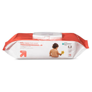 up & up Baby Wipes - Scented - 72 ct