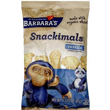Barbaras Barbara's Snackimals Vanilla Animal Cookies, 2.125 (Pack of 18)