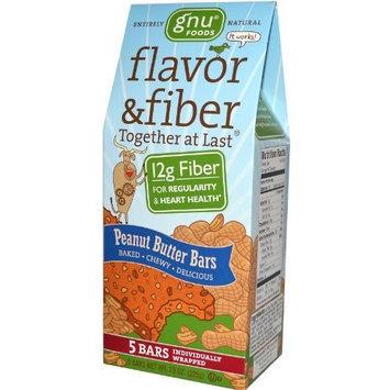 Gnu Foods Flavor & Fiber Bars - Peanut Butter