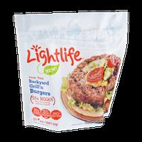 Lightlife Veggie Burgers Backyard Grill'n Meat Free - 4 CT