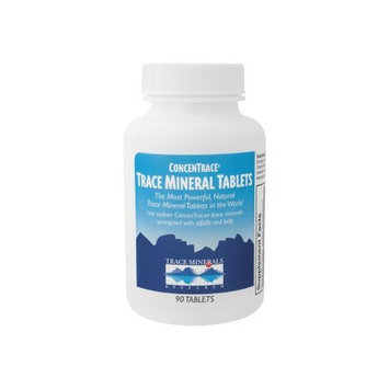 Trace Minerals Research Trace Mineral Tablets Trace Minerals 90 Tabs