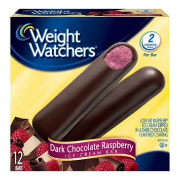 Weight Watchers Dark Chocolate Raspberry Ice Cream Bar