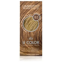 Umberto Beverly Hills U Color Italian Demi Hair Color - Natural Light