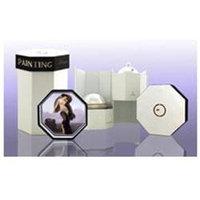 PAINTING PICTURE FRAME by Eclectic Collections SET- EAU DE PARFUM SPRAY 3.4 OZ & BODY CREAM 5 OZ for WOMEN