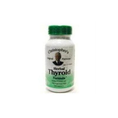 Dr.christopher's Formulas Dr. Christophers Formulas 0757856 Herbal Thyroid - 475 mg - 100 Vegetarian Capsules