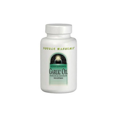 Source Naturals Garlic Oil - 500 mg - 100 Softgels