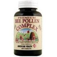 American Health Bee Pollen Complex - 1000 mg - 100 Tablets