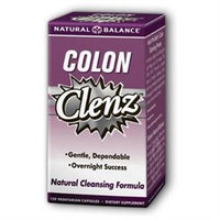 Colon Clenz by Natural Balance - 120 Vegetarian Capsules