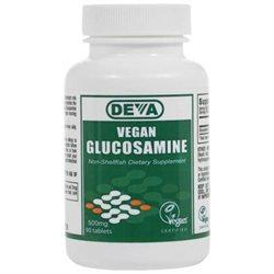 Deva Nutrition - Vegan Glucosamine 500 mg. - 90 Tablets