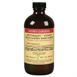 Honey Gardens Apiaries - Honey Wild Cherry Bark Syrup - 8 oz.
