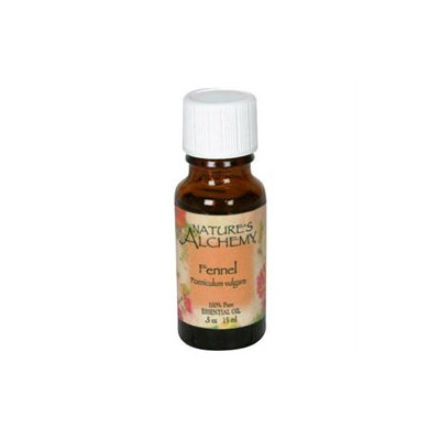 tures Alchemy Pure Essential Oil Fennel (Sweet), 0.5 oz, Nature's Alchemy
