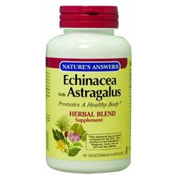 tures Answer Nature's Answer Echinacea with Astragalus - 90 Capsules