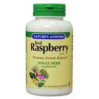 tures Answer Red Raspberry Leaf by Nature's Answer - 90 Vegetarian Capsules