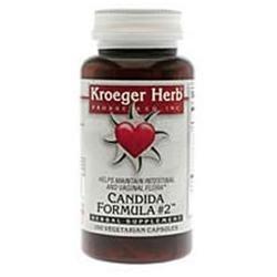 Kroeger Herb Candida Formula No. 2 - 100 Capsules
