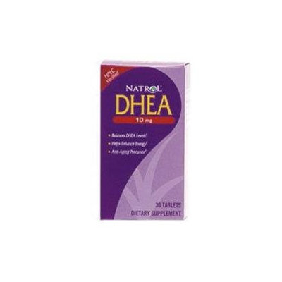 Natrol Dhea 10 MG - 30 Tablets - Other Supplements