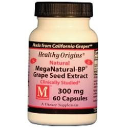 Healthy Origins MegaNatural-BP Grape Seed Extract, 300mg, Capsules