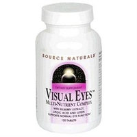 Source Naturals Visual Eyes Multi-Nutrient Complex - 120 Tablets