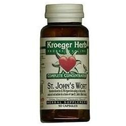 Kroeger Herbs - Complete Concentrate Saint John's Wort - 90 Vegetarian Capsules