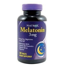 Melatonin Twin Pack 3mg by Natrol - 60 Tablets