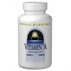 Source Naturals A Palmitate 10000 IU - 250 Tablets - Vitamin A