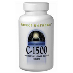Source Naturals C-1500 w/Rosehips Timed Release