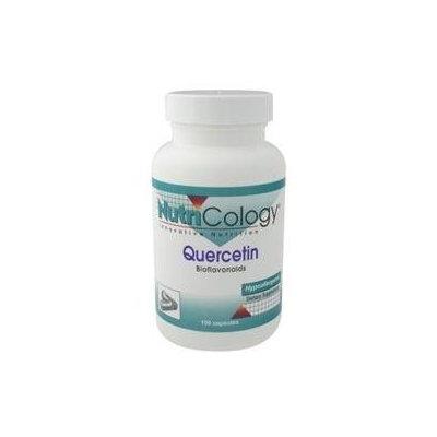 NutriCology Quercetin Bioflavonoids - 100 Vegetarian Capsules