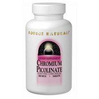 Source Naturals Chromium Picolinate 200 MCG - 120 Tablets - Other Minerals