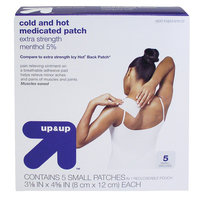 up & up Cold/Hot Therapy 5-pk. Patches