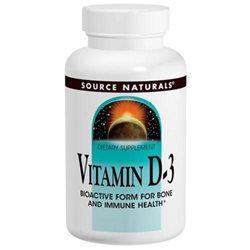 Source Naturals - Vitamin D-3 2000 IU - 100 Softgels