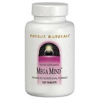 Source Naturals Mega Mind - 90 Tablets - Prenatal Supplements