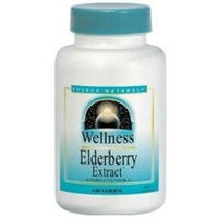 Source Naturals Wellness Elderberry Extract - 500 mg - 30 Tablets