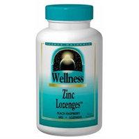 Source Naturals Wellness Zinc Lozenges Peach-Raspberry - 23 mg - 60 Lozenges