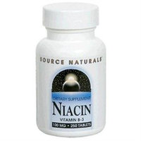 Source Naturals Niacin Vitamin B-3 - 100 mg - 250 Tablets