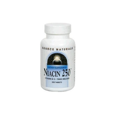 Source Naturals Niacin 250 MG - 250 Tablets - Niacin
