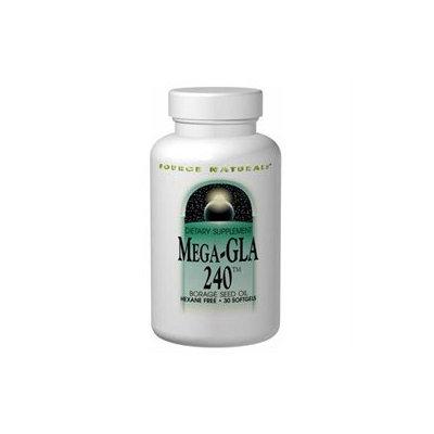 Source Naturals Mega-GLA 240 Borage Seed Oil