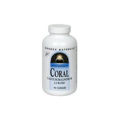 Source Naturals Coral Calcium Magnesium - 180 Capsules